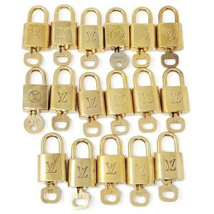 100% Authentic Louis Vuitton 1 Locks and 1 Key